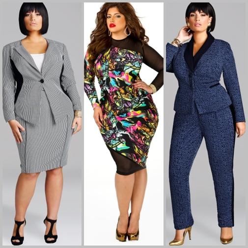 Moda pentru femei plinute, cu forme, in 2016