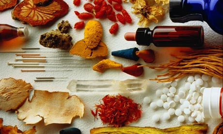 Various alternative medicines