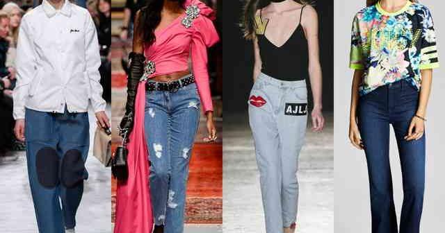 Blugi la modă primăvara-vara 2017