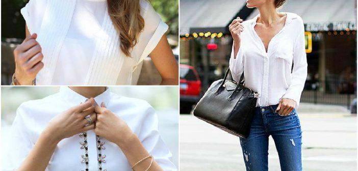 Cămașa albă de damă, articol must have în orice garderobă