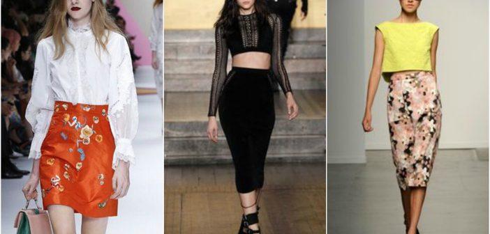 Modele de fuste de vară la modă în 2017