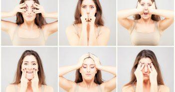 Exerciții de gimnastică facială pentru întinerirea chipului