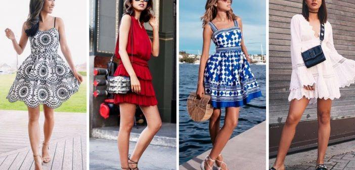 Modele de rochii de zi în tendințe în vara anului 2018