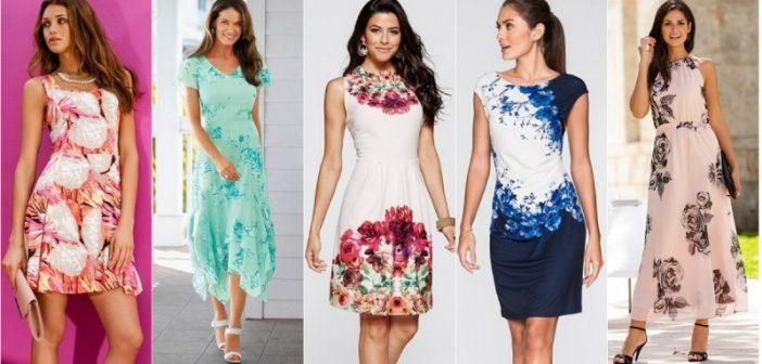 Rochii de primăvară-vară, modele cu flori care îți pun în valoare feminitatea